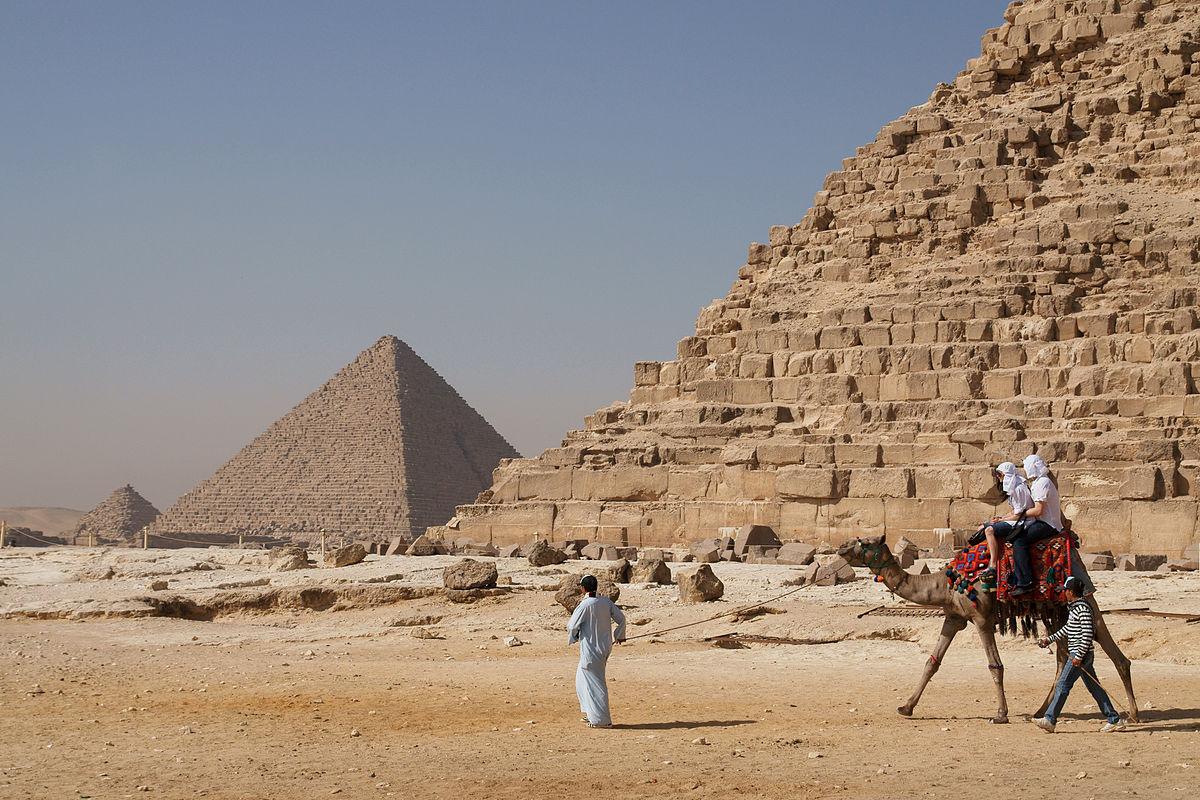 De Egyptiske pyramidene