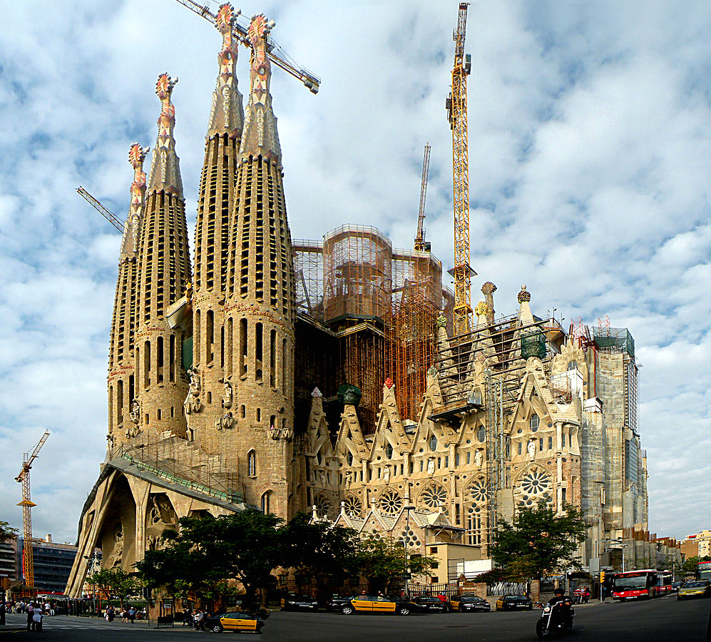 Segrada Familia – nærmer seg ferdigstilling