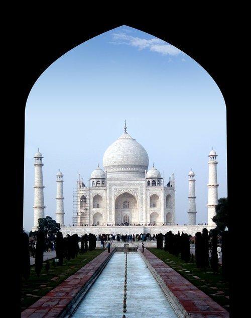 Taj Mahal – ett av verdens største arkitektoniske mesterverk